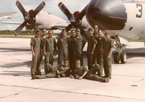 Pete Canalichio and Crew 2 in the US Navy